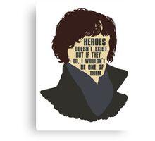 Sherlock 1 Canvas Print