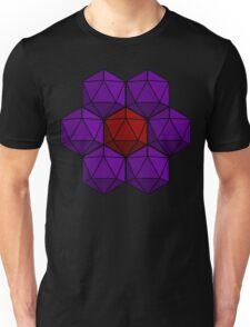 D20 Flower Unisex T-Shirt
