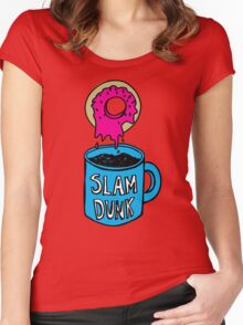 Slam Dunk! Women's Fitted Scoop T-Shirt
