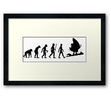 Treasure Planet Evolution Framed Print