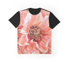 Big Peach Poppy 2 Graphic T-Shirt