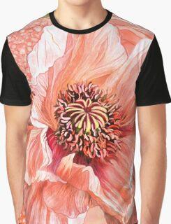 Big Peach Poppy 2 Graphic T-Shirt