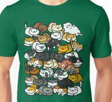 Neko Atsume Sleepy Kitties Unisex T-Shirt