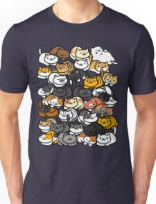 Neko Atsume Sleepy Kitties Unisex T-Shirt
