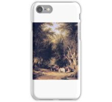 William Shayer Senior - In the New Forest iPhone Case/Skin