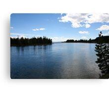 Yellowstone Nature Photography Canvas Print