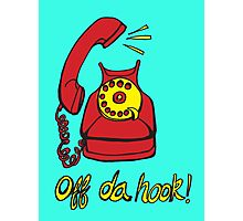 Off Da Hook! Photographic Print