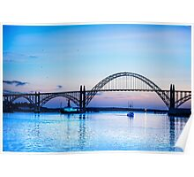 Coming Home to Newport, Oregon Poster