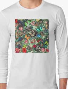 tropical vintage  Long Sleeve T-Shirt