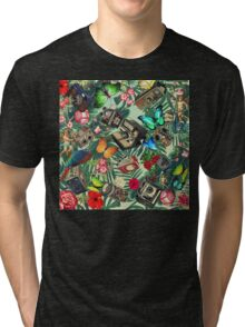 tropical vintage  Tri-blend T-Shirt