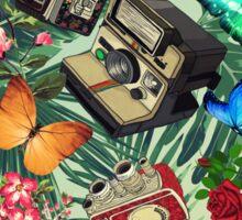 tropical vintage  Sticker