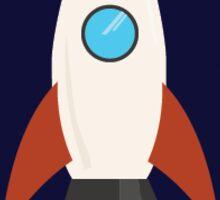 Space Ship Sticker