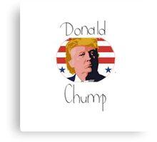 Donald Chump Canvas Print