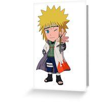 Minato Chibi Greeting Card