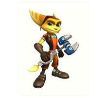 ratchet clank heroes Art Print
