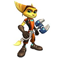 ratchet clank heroes Photographic Print