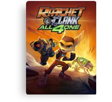 ratchet clank all 4 one Canvas Print