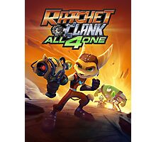 ratchet clank all 4 one Photographic Print