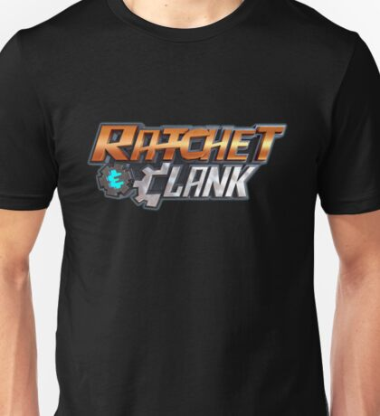 ratchet clank logo games Unisex T-Shirt