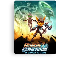 ratchet clank in the time Canvas Print