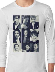 sherlock cast Long Sleeve T-Shirt