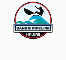 Surfing BANZAI PIPELINE OAHU HAWAII Surf Surfer Surfboard Waves Ocean Beach Vacation Stickers Unisex T-Shirt