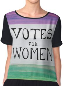 Votes for Women Chiffon Top