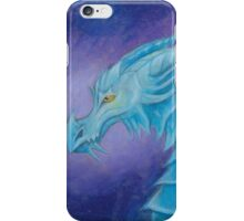 The Cool Blue Dragon iPhone Case/Skin