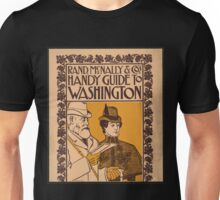 Artist Posters Rand McNally Co's Handy Guide to Washington 1039 Unisex T-Shirt