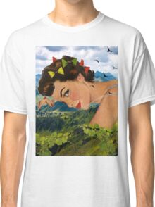 Peaceful time Classic T-Shirt