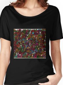 Psychedelic Cartoon Women's Relaxed Fit T-Shirt