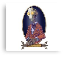 Coin-Operated Gentleman Canvas Print