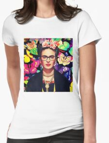 Beauty is abstract Womens Fitted T-Shirt