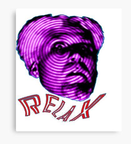 MUGATU SAY RELAX Canvas Print