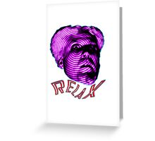 MUGATU SAY RELAX Greeting Card