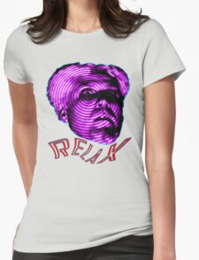 MUGATU SAY RELAX Womens Fitted T-Shirt