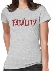 Mortal kombat Fatality Womens Fitted T-Shirt