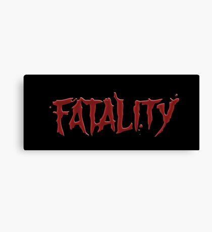 Mortal kombat Fatality Canvas Print
