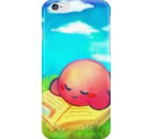 Kirby: Afternoon Nap iPhone Case/Skin