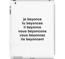 Je Beyoncé... iPad Case/Skin