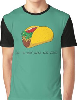 This is not a Taco Graphic T-Shirt