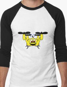 Happy Drone Men's Baseball ¾ T-Shirt