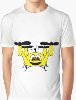 Happy Drone Graphic T-Shirt