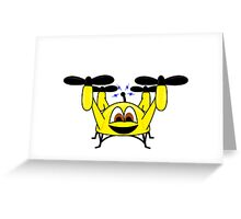 Happy Drone Greeting Card