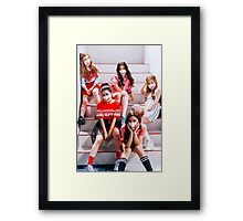 Red Velvet! Dumb Dumb era. Framed Print