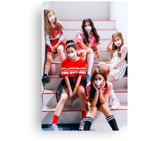 Red Velvet! Dumb Dumb era. Canvas Print