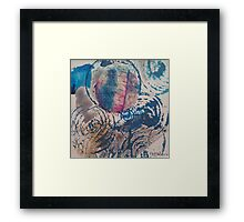 Blue Moods Framed Print