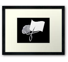 Rock Paper Scissors iPhone / Samsung Galaxy Case Framed Print
