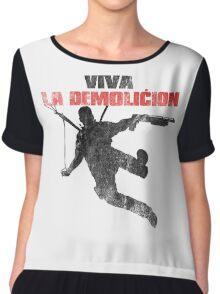 Just Cause - Viva la demolicion Chiffon Top