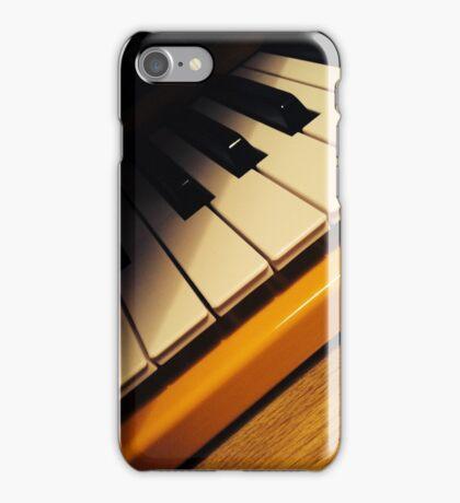 Yellow Keyboard iPhone Case/Skin